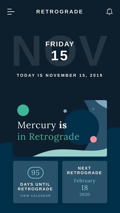Retrograde - Tracking Mercury screenshot-3
