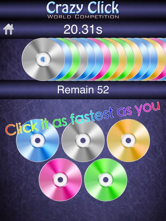 Crazy Click World Competition Screenshots