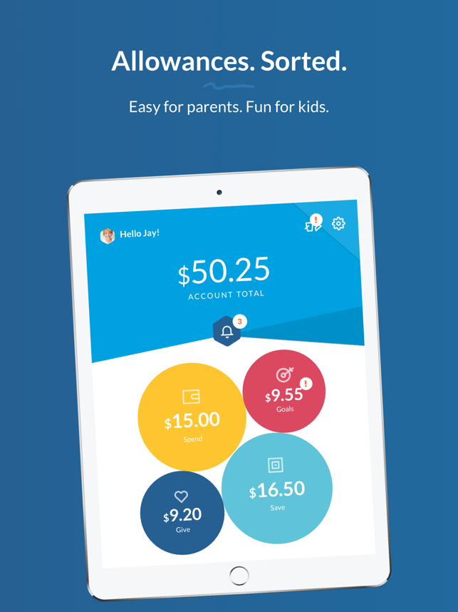 RoosterMoney: Pocket Money App Screenshot