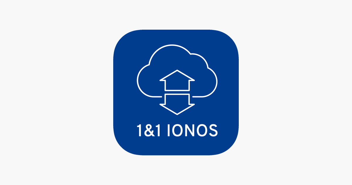 1&1 IONOS HiDrive on the App Store