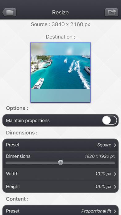 Video Resize & Scale - HD screenshot 1