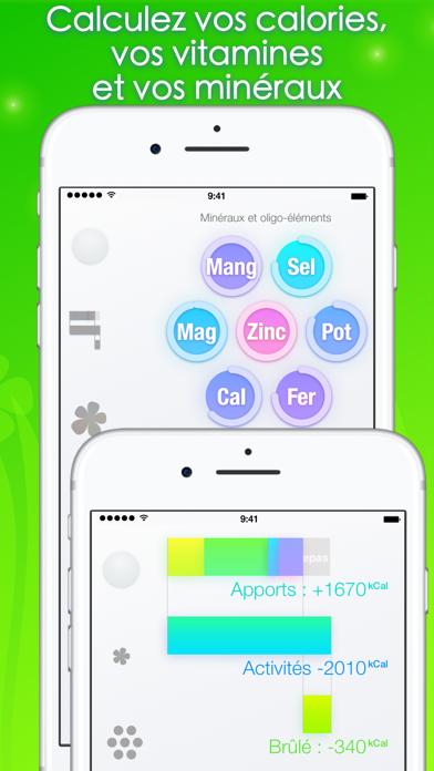 Screenshot #2 pour Calories minute