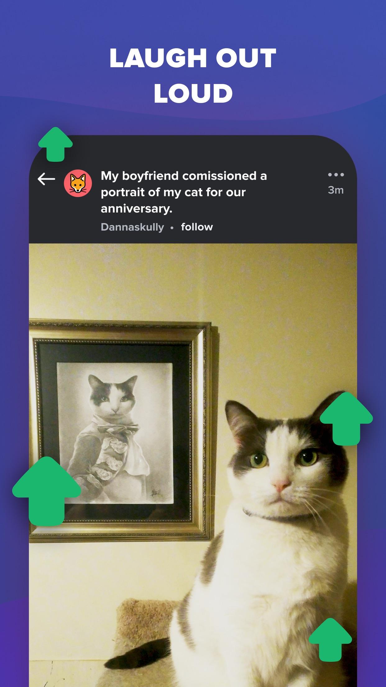 Screenshot do app Imgur - Funny Meme & GIF Maker