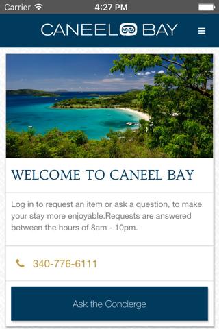 Caneel Bay Resort App - náhled