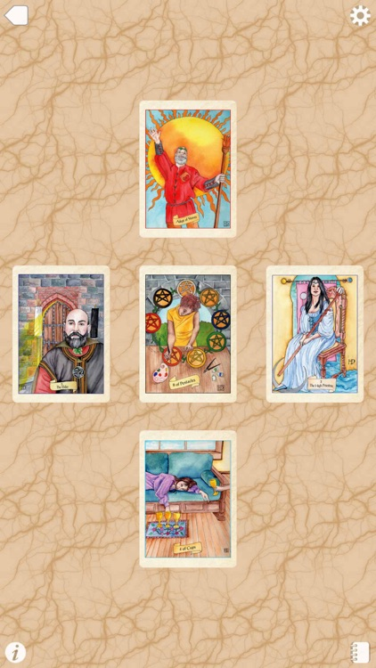 Fellowship of the Fool Tarot screenshot-4