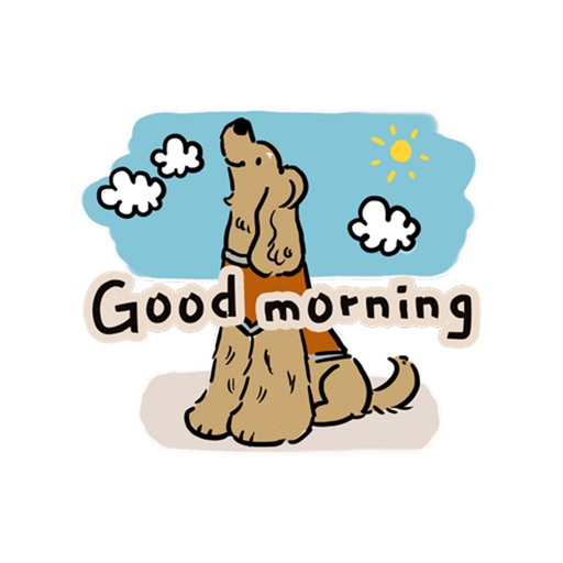 Cocker Spaniel dog friends icon
