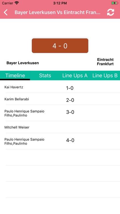 One Stop Football - Live Score screenshot-5