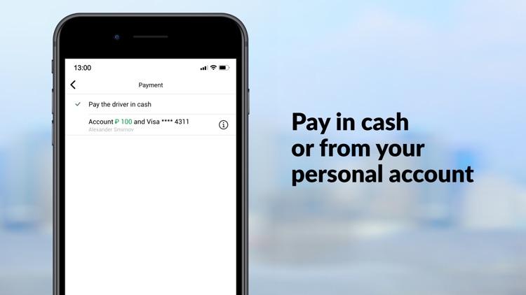 maxim — order taxi & delivery screenshot-5