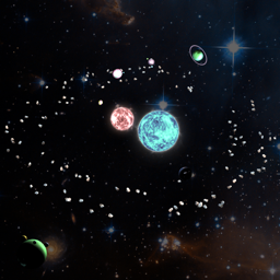 Ícone do app mySolar - Build your Planets