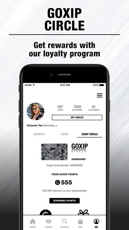 Goxip- Fashion Beauty Shopping screenshot-6