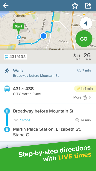 Screenshot for Citymapper - Local Transport in Australia App Store