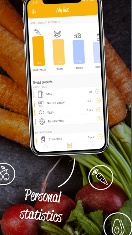 HNGRY - Grocery shopping list screenshot-4