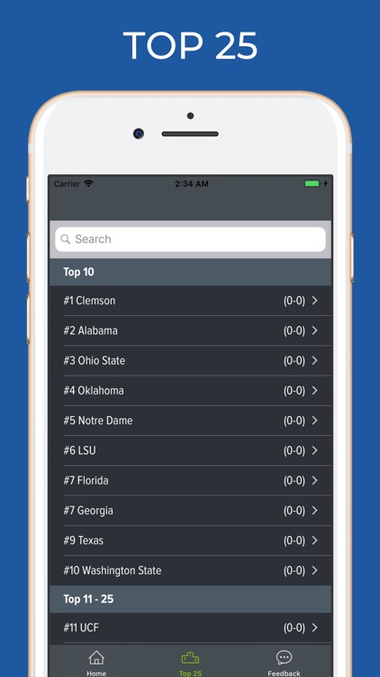 Arizona Football Schedules screenshot-4