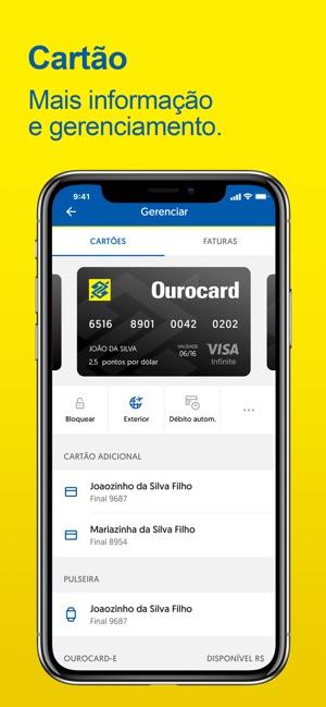 Banco do Brasil Screenshot