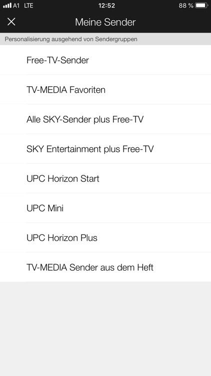 TV-MEDIA TV Programm screenshot-3