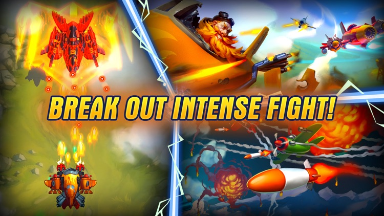 HAWK: Airplane Fighter jet sky screenshot-4