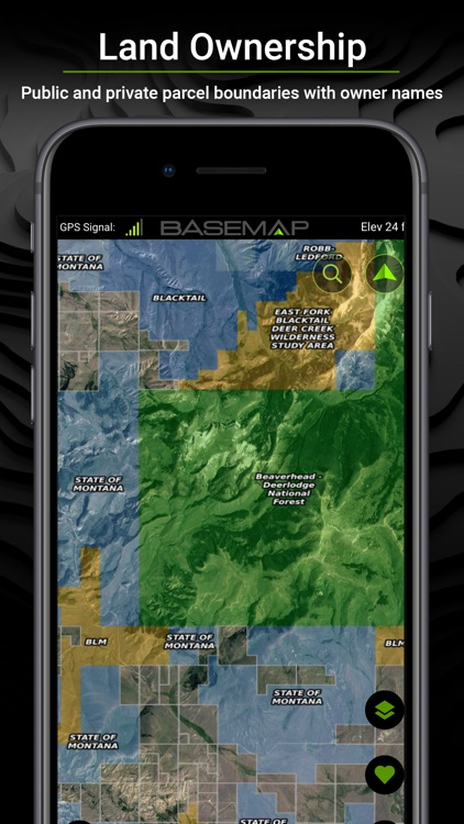 BaseMap: 3D Hunting GPS Maps screenshot-0
