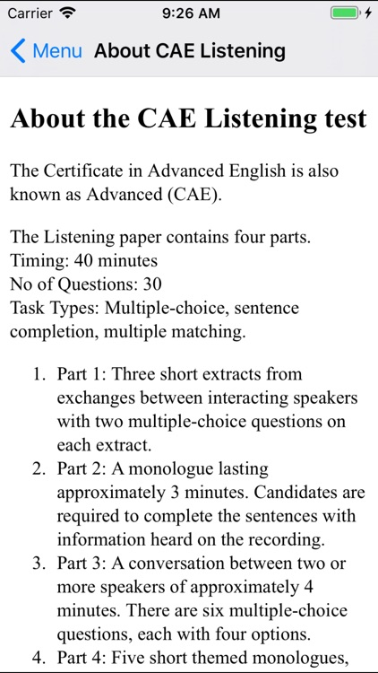 Advanced (CAE) Listening by Exam English Ltd