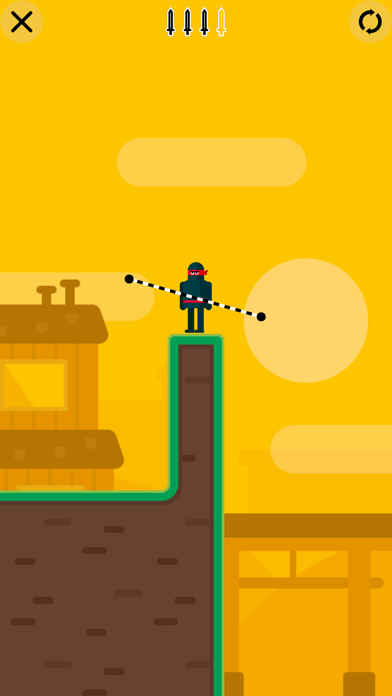 Mr Ninja - Slicey Puzzles screenshot 1