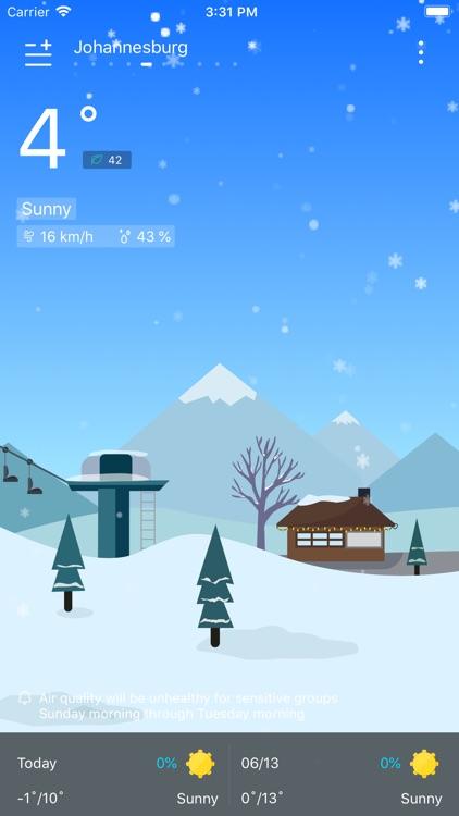 Weather - Live Weather & Radar screenshot-3
