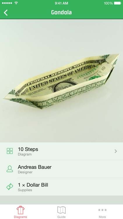 Dollar Bill Origami screenshot-4