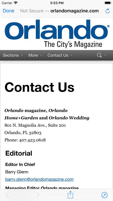 Orlando Magazine Insider screenshot 3