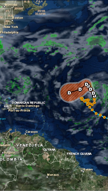 Atlantic Hurricane Tracker
