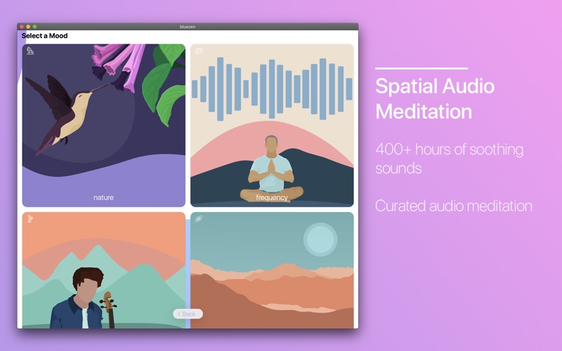Bluezen - Mindfulness and Zen for Mac