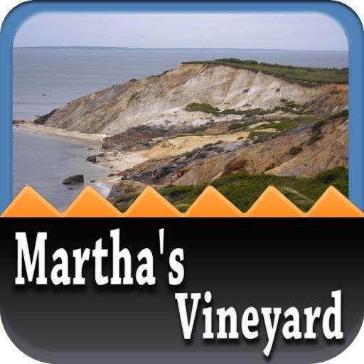 Martha's Vineyard Offline Map iOS App