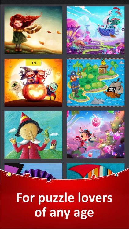 Jigsaw Puzzle Collection HD screenshot-9