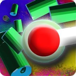 Color Hop: 3D Ball Bouncing
