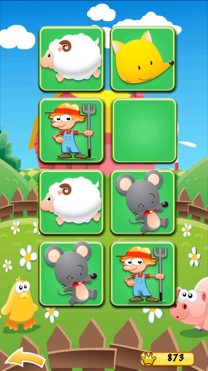 Farm Match for Kids & Toddlers