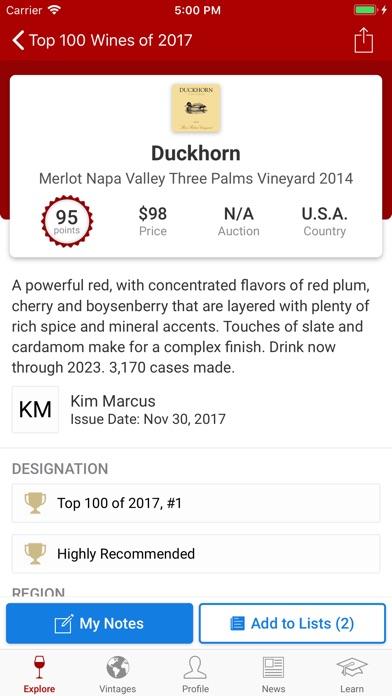 다운로드 WineRatings+ by Wine Spectator Android 용