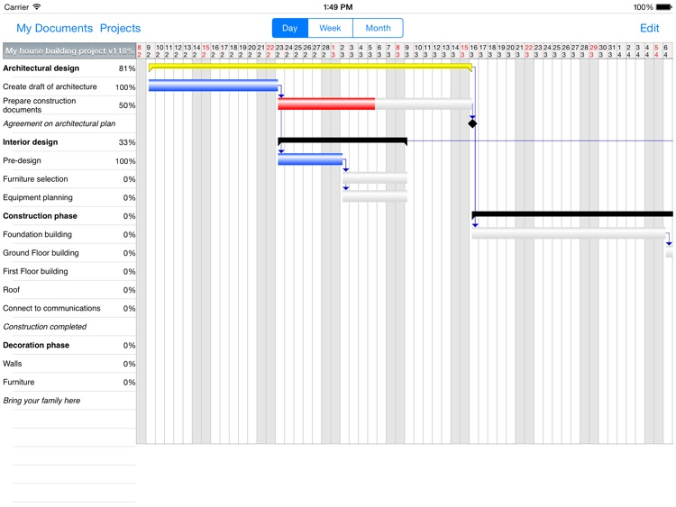 Project Planner HD screenshot-0