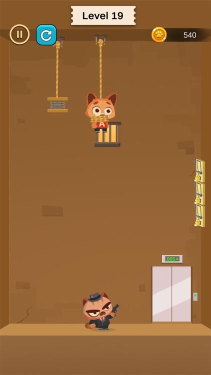 Rescue pet - Cut the line screenshot-3