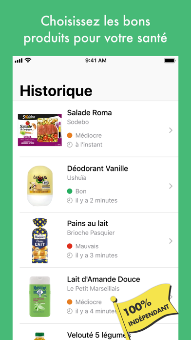 Yuka - Scan de produits pour Android