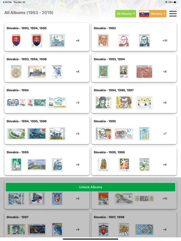 Screenshot #4 pour Philatelist tablet