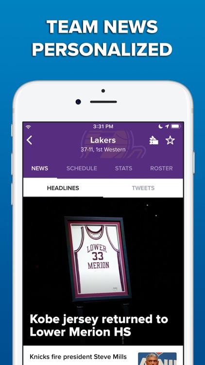 CBS Sports App Scores & News screenshot-4