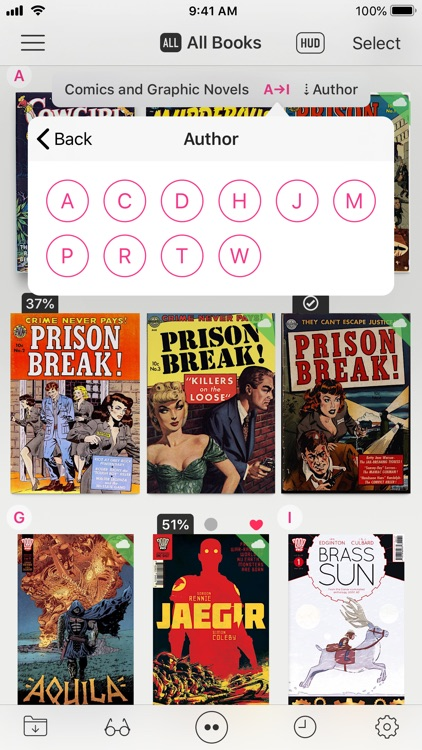 Booklover - comic/ebook reader