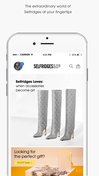Selfridges screenshot-0
