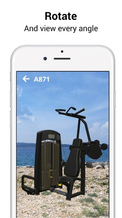 DHZ Fitness ARScreenshot von 3