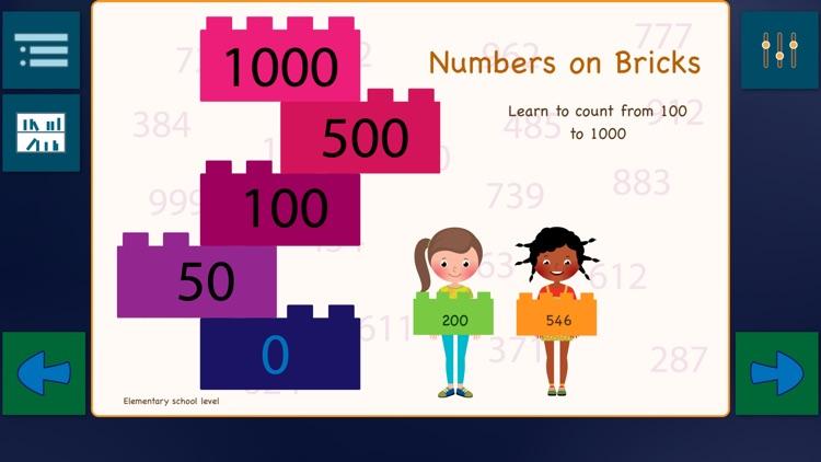 Numbers on Bricks screenshot-0