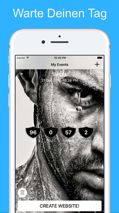 Herunterladen Countdown! Tage Uhr Zähler App für Pc