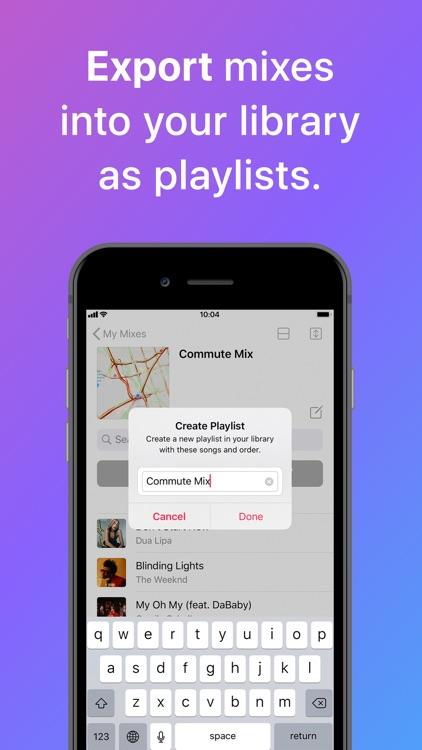 Miximum: Smart Playlists screenshot-4