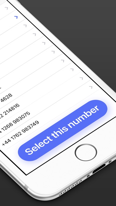 Screenshot for Second Phone Number in Israel App Store