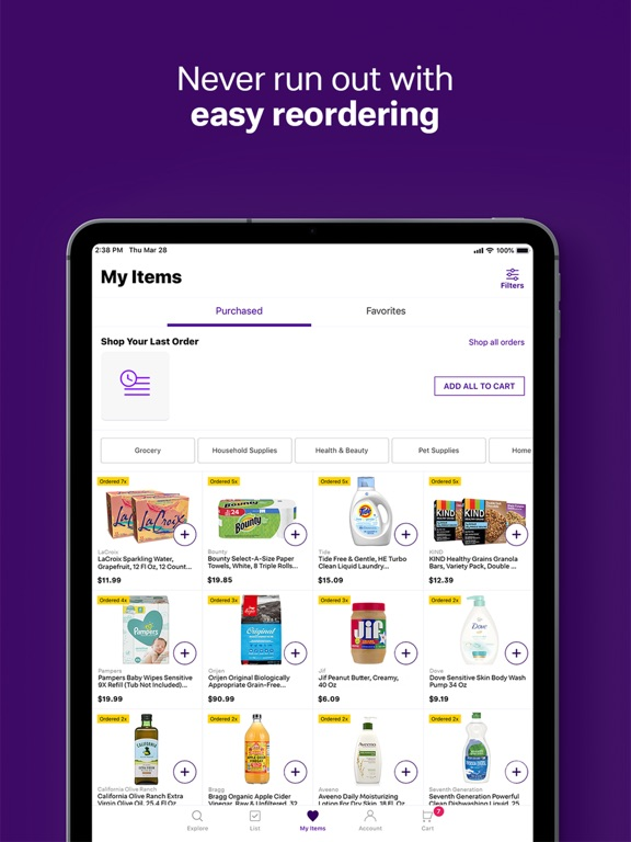 Jet App: Online Shopping Deals & Best Prices for Grocery, Home, & Daily Essentials screenshot