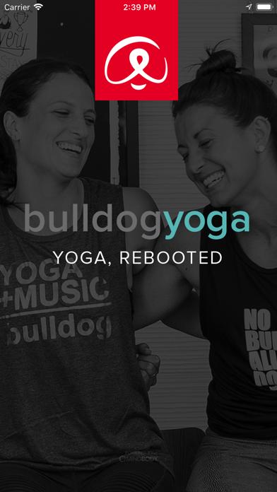 bulldog yoga screenshot one
