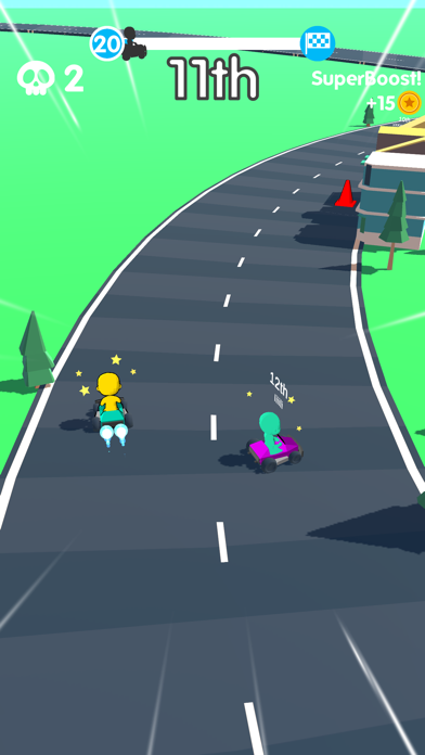 SuperKart.io screenshot 2