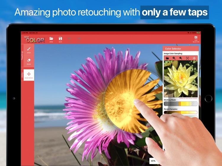 New Color (iPad)-Color Retouch screenshot-3