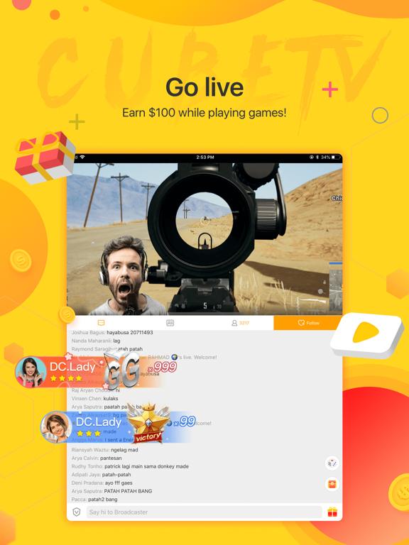 Cube TV – Live Games Community screenshot 9